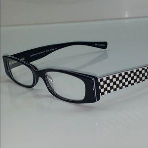 eye-bobs Eyeglass Frame Black/Checkered Full Rim
